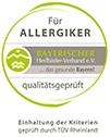 Allergikerfreundlich