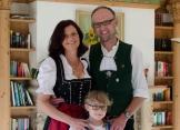 Klaus mit Familie