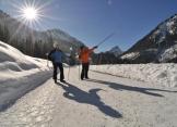 Winterwandern bei Hinterstein