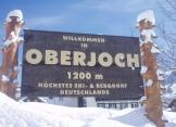 Schnee in Oberjoch