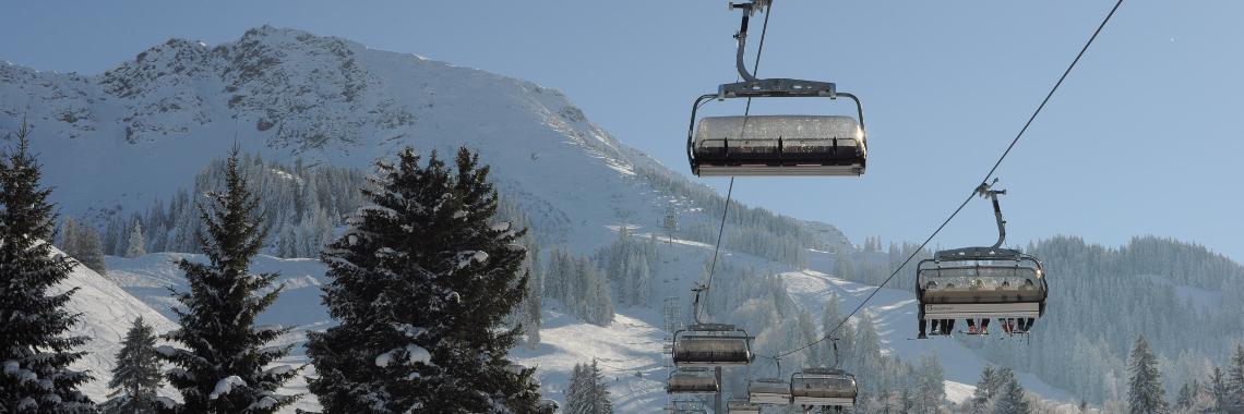 Skifahren Header
